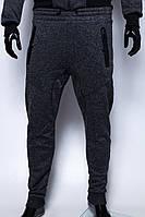 Спортивные штаны мужские утепленные GS 7970_1 серые