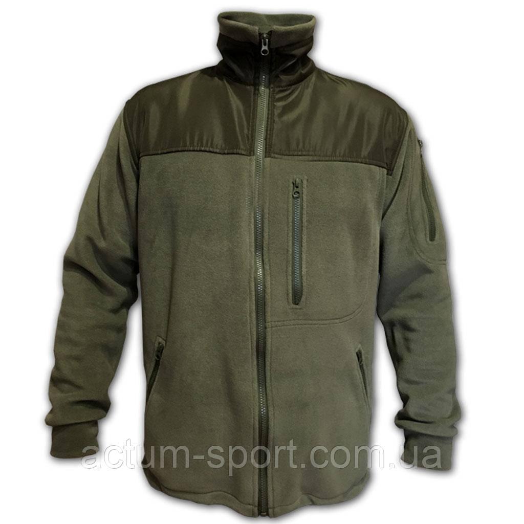 Мужская флисовая кофта Protection олива M