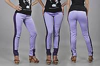 Лосины-брюки с лампасами, ткань коттон. Разные размеры.