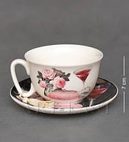 Чашка с блюдцем  WAB-02-16
