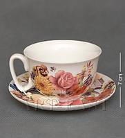 Чашка с блюдцем WAB-02-12