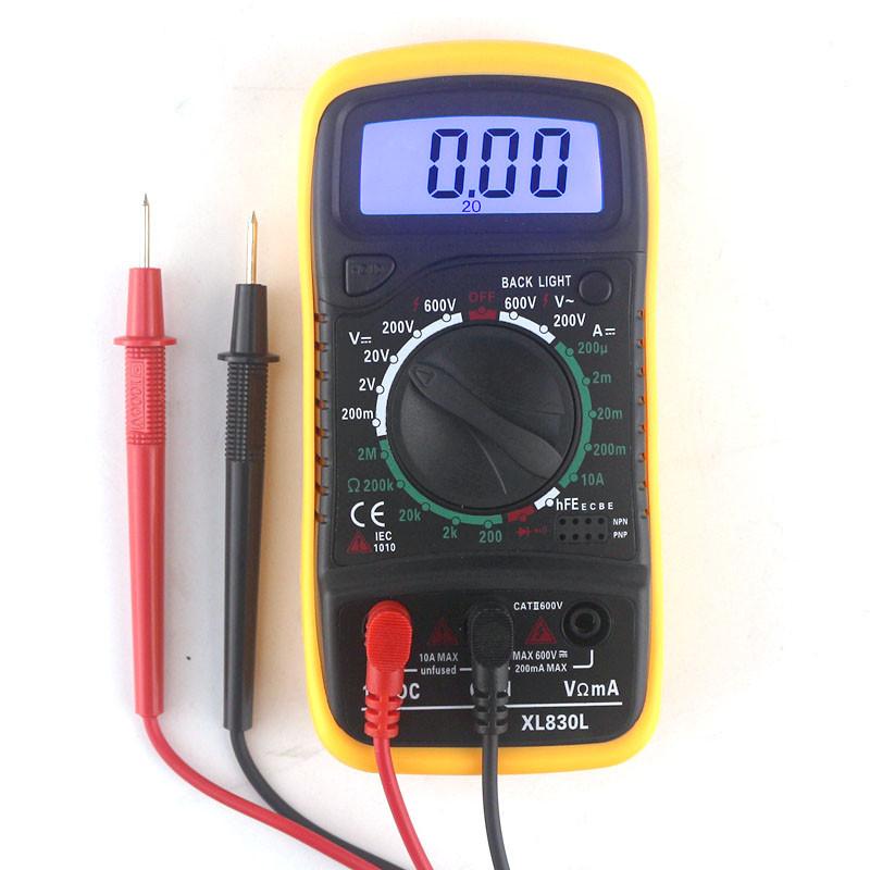 Цифровой мультиметр, тестер XL830L с Подсветкой