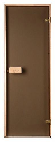 Стеклянная дверь для бани и сауны Saunax Classic