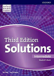 Solutions Third Edition Intermediate Student's Book / Учебник