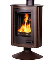 Отопительная печь-камин длительного горения Masterflamme Piccolo II (коричневый бархат), фото 1