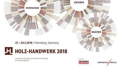 Holz-Handwerk 2018 in Nürnberg, Germany