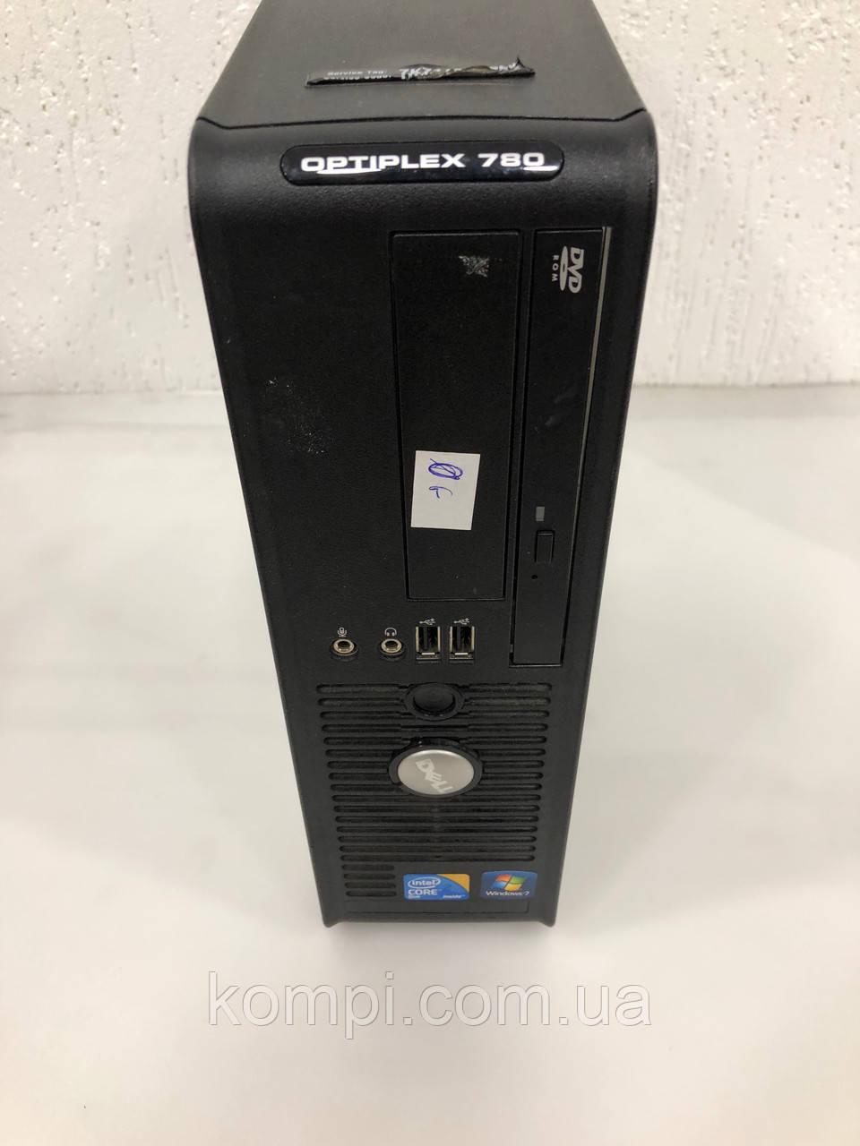 Системний блок DELL 780 SFF (Core 2 Duo E7500/2Gb DDR3/Video INTG/HDD 80GB /DVD)