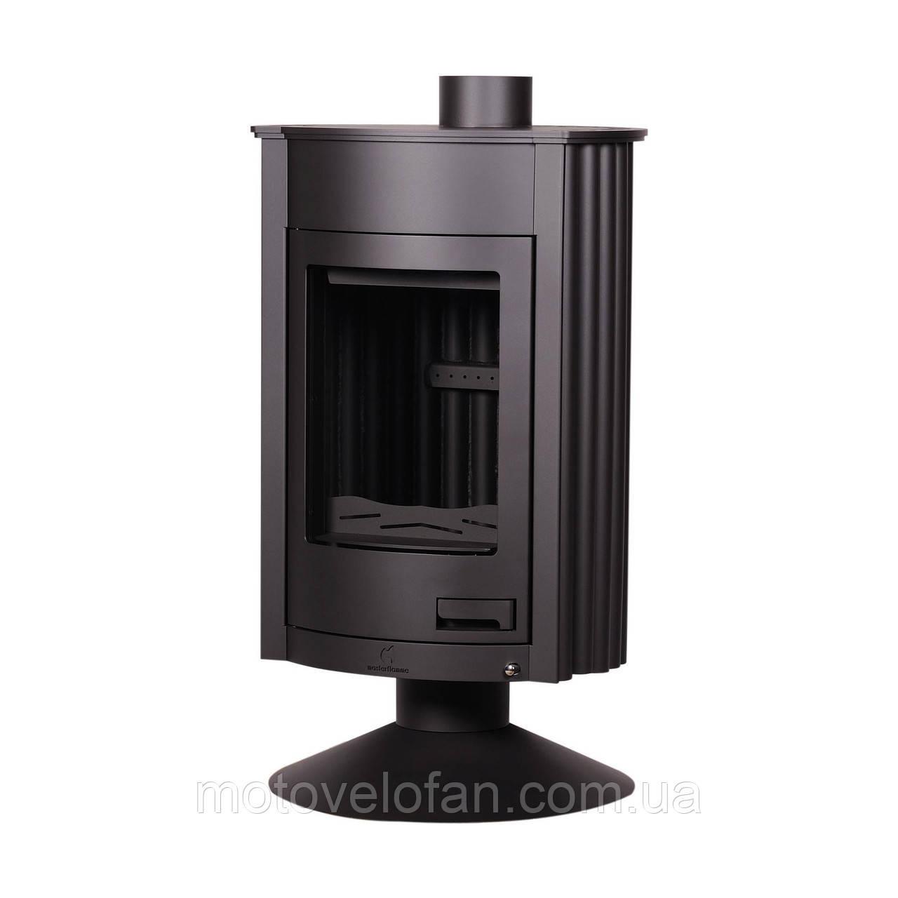 Отопительная печь-камин длительного горения Masterflamme Medie II (черный)