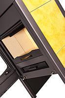 Отопительная печь-камин длительного грения FLAMINGO VEGA (желтый), фото 1
