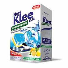 Таблетки для посудомоечной машины Klee Alles in 1 102шт. Германия