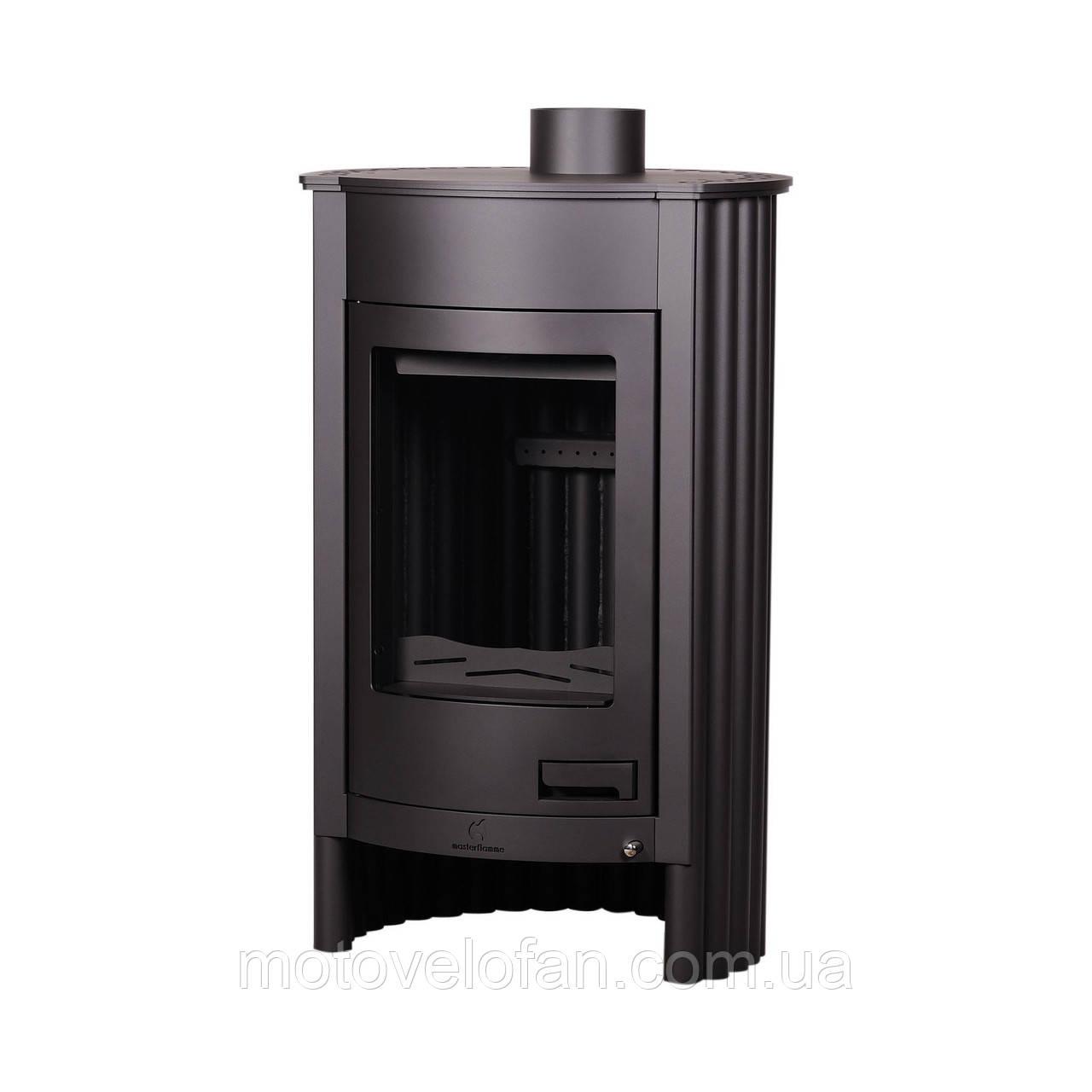 Отопительная печь-камин длительного горения Masterflamme Medie I (черный)