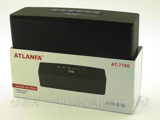 Bose SoundLink Mini Review, Atlanfa AT-7706, портативная колонка с MP3 Bluetooth FM, копия, черная, фото 2