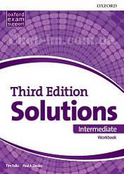 Solutions Third Edition Intermediate Workbook / Рабочая тетрадь