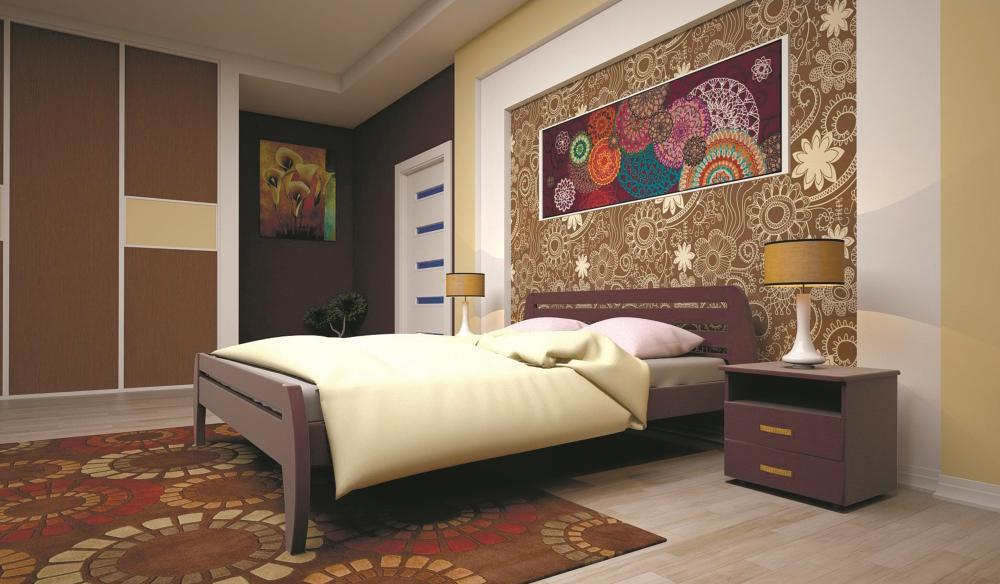 Кровать ТИС НОВЕ 1 160*200 дуб