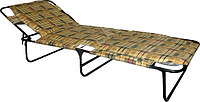 Раскладушка мягкая «Мария м30» с матрасом 3 см.