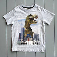 Хлопковая футболка Н&M р.98/104