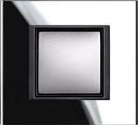 Рамка Schneider-Electric Unica Class 1-пост Чёрное Зеркало MGU68.002.7C1