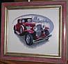 2 картины крестом Бьюик и Кадиллак Ретро авто