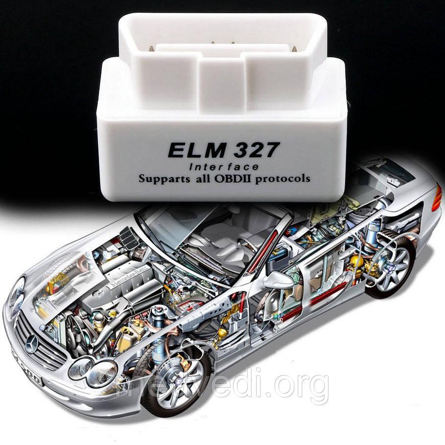 Автосканер ELM диагностика авто, бортовой компьютер