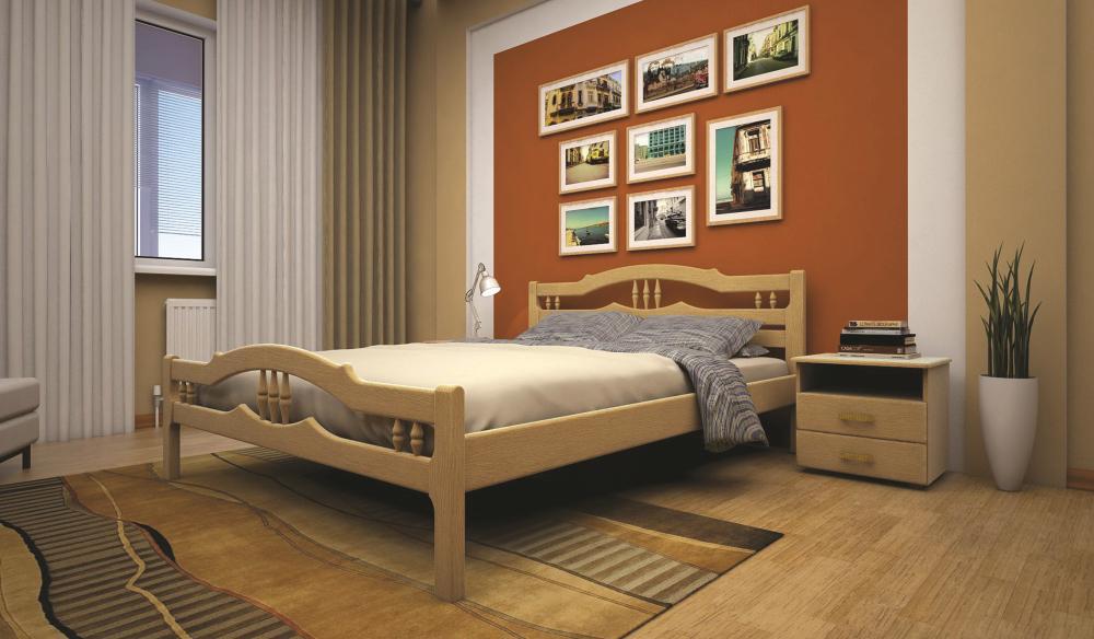 Деревянная кровать ТИС ЮЛІЯ 1