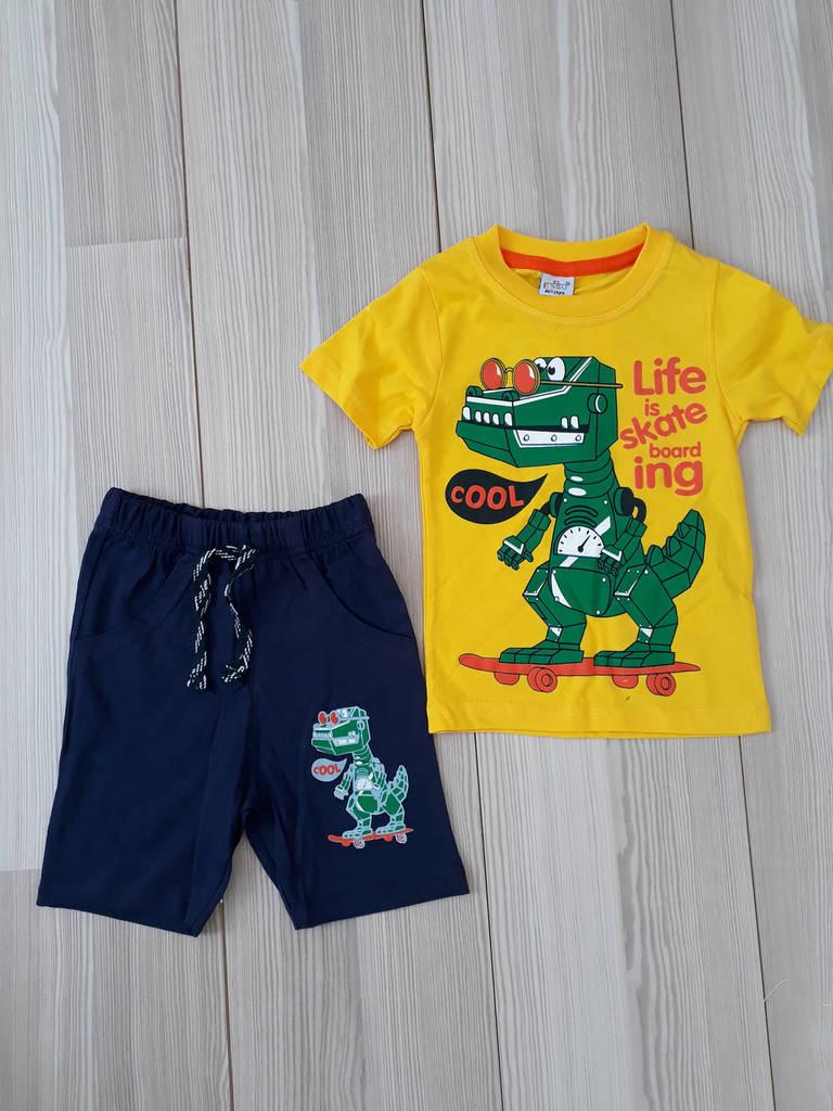Костюм футболка и шорты для мальчика (1-4 года)