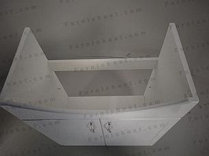 Тумба под раковину для ванной комнаты Базис 65-03 с умывальником Церсания 65 ПИК, фото 2