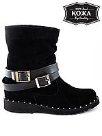Ботинки с пряжкой 6115-28