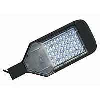 Светильник уличный EL-ST-02, 50Вт, 95-265В, 6400K, 4500Lm, SAN'AN LED, с линзами, IP65, ElectrO