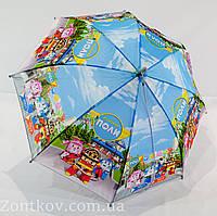 """Детский зонтик """"Робокар Поли"""" на 4-6 лет то фирмы """"Rainproof"""""""