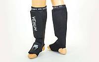 Защита для ног чулочного типа VENUM MA-6239-BKW (XS-XL, черный-белый)
