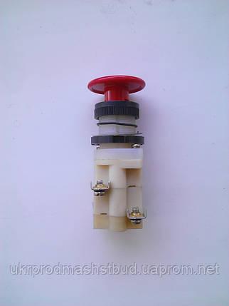 Кнопка КМЕ 5511 красная, фото 2