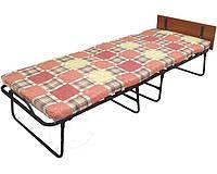 Раскладная кровать раскладушка «Венеция» с подголовником