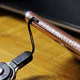 Чехол 3D для 6/6S iPhone золотой с кольцом и стразами, фото 9