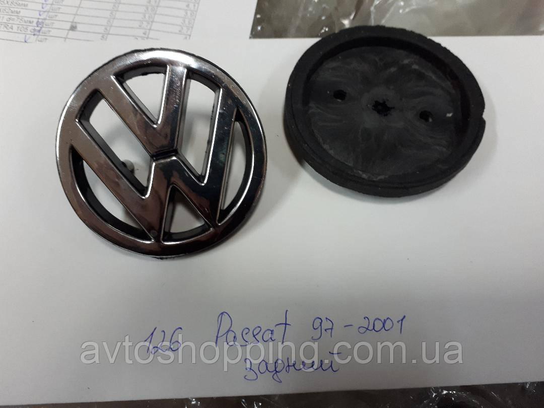 Эмблема значок на багажник Volkswagen VW Passat B5 1997-2001, 75 мм