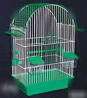 Клетка для попугаев Ретро крашенная  28х18х45