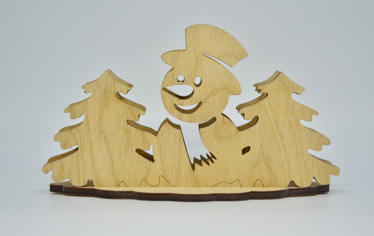 Салфетница деревянная
