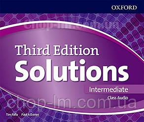Solutions Third Edition Intermediate Class Audio / Аудио диск