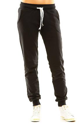 Женские спортивные штаны 406  темно-синие, фото 2