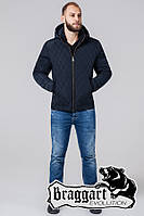 Куртка демисезонная на меху мужская Braggart - 2686S синий, фото 1