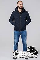 Куртка демисезонная на меху мужская Braggart - 2686S синий