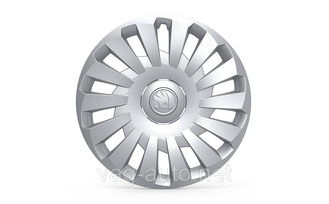 """Колпак колеса 6.0J x 16"""" Nordic для Skoda Octavia A7"""