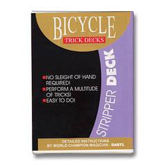 Трюкова колода | Bicycle Stripper Deck