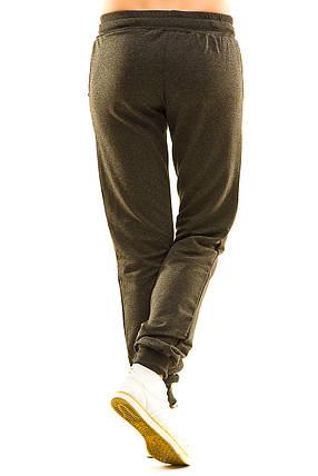 Женские спортивные штаны 406/1 антрацит 44, фото 2