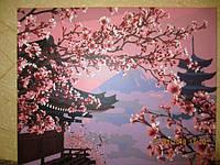 Раскраска по номерам Turbo Японский пейзаж VP595