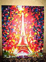 Картина по номерам Turbo Эйфелева башня MS328