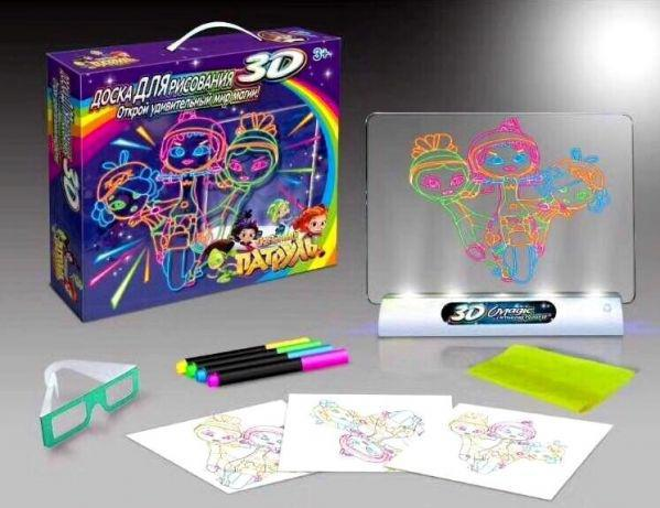 Toy Magic 3D доска для рисования Сказочный Патруль