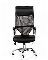 Кресло офисное Supreme 2 Black E4992, Мультиблок с регулировкой качания и фиксацией спинки Бесплатная доставка