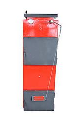Котел шахтер для влажных дров 15 квт стандарт