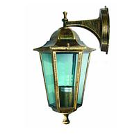 Садовый  светильник Кантри PL6102 античное золото, металл