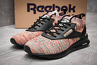 Кроссовки женские 12461, Reebok  Zoku Runner, розовые ( 40  )